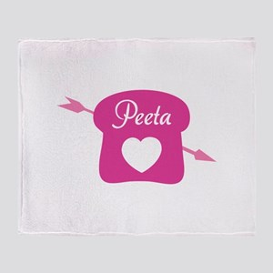 HG Peeta Throw Blanket