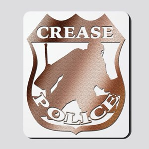 Hockey Goalie Crease Police Mousepad