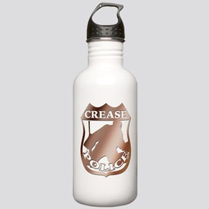 Hockey Goalie Crease Police Stainless Water Bottle