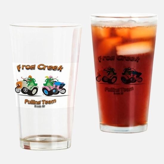 Garden tractor Drinking Glass