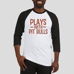 PLAYS Pit Bulls Baseball Jersey