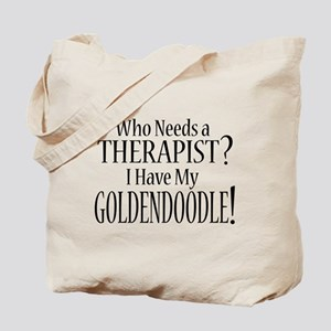THERAPIST Goldendoodle Tote Bag