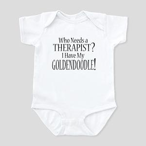 THERAPIST Goldendoodle Infant Bodysuit