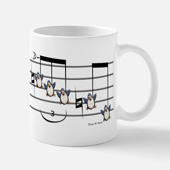Musical Penguin Mug