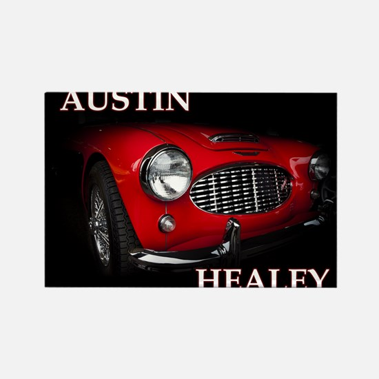 Austin Healey Rectangle Magnet