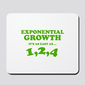 Exponential Growth Mousepad