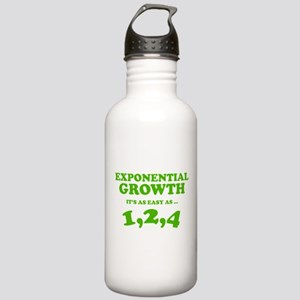Exponential Growth Stainless Water Bottle 1.0L