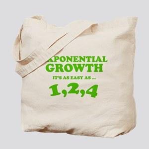 Exponential Growth Tote Bag