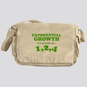 Exponential Growth Messenger Bag