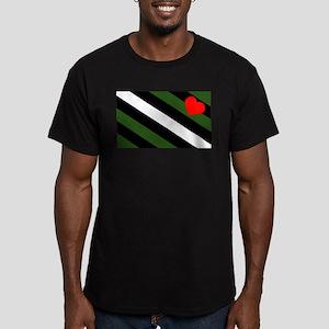 Boy Pride Men's Fitted T-Shirt (dark)