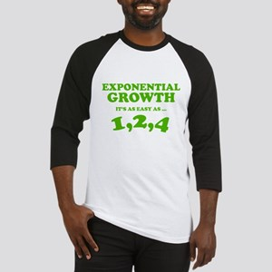 Exponential Growth Baseball Jersey