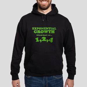Exponential Growth Hoodie (dark)
