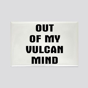 Out Vulcan Rectangle Magnet