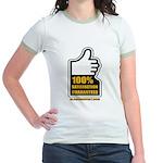 100% Jr. Ringer T-Shirt