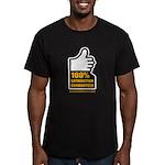 100% Men's Fitted T-Shirt (dark)