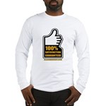 100% Long Sleeve T-Shirt