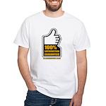 100% White T-Shirt
