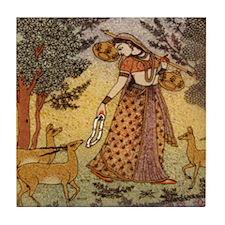Indian Woman Tile