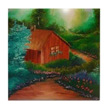 Cabin in the Woods Tile