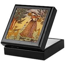 Indian Woman Keepsake Box