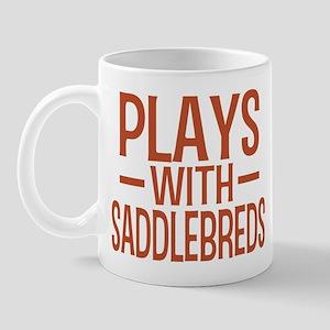 PLAYS Saddlebreds Mug