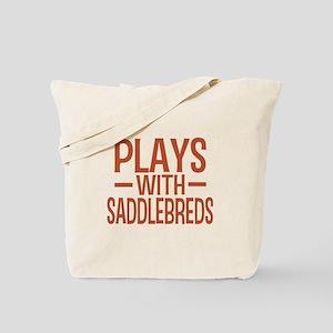 PLAYS Saddlebreds Tote Bag