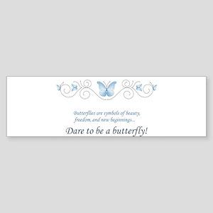Butterfly Challenge Sticker (Bumper)
