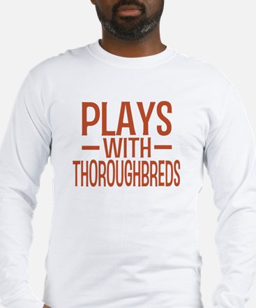 PLAYS Thoroughbreds Long Sleeve T-Shirt