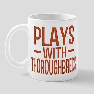 PLAYS Thoroughbreds Mug