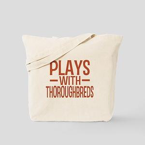 PLAYS Thoroughbreds Tote Bag