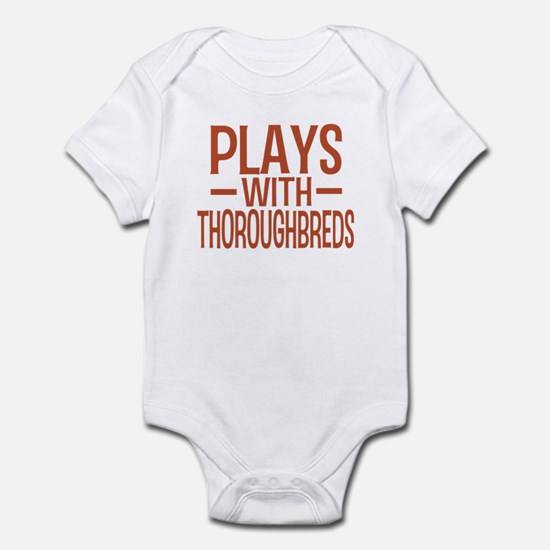 PLAYS Thoroughbreds Infant Bodysuit