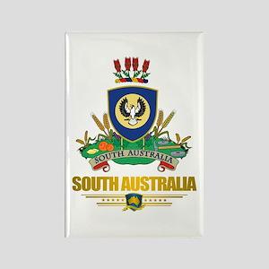 """South Australia COA"" Rectangle Magnet"