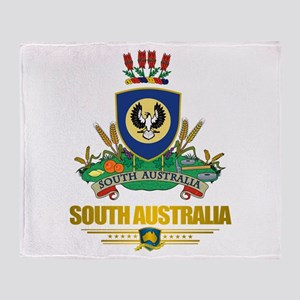 """South Australia COA"" Throw Blanket"