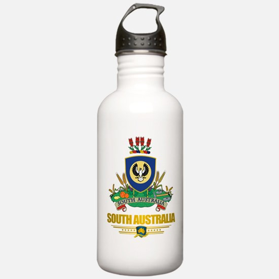 """South Australia COA"" Water Bottle"