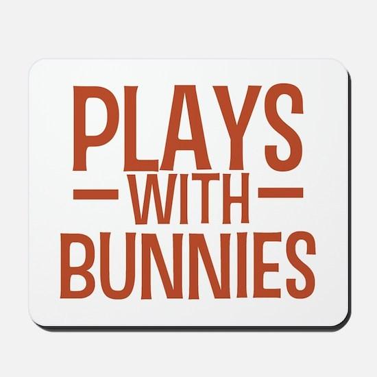 PLAYS Bunnies Mousepad