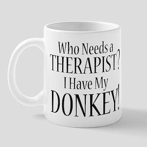 THERAPIST Donkey Mug