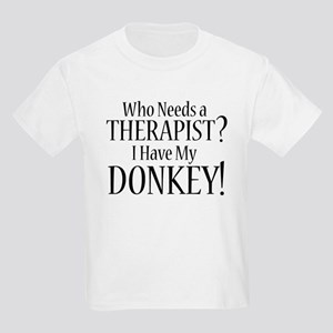 THERAPIST Donkey Kids Light T-Shirt