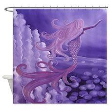 Mermaid (lavender) Shower Curtain