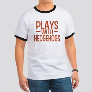 PLAYS Hedgehogs Ringer T