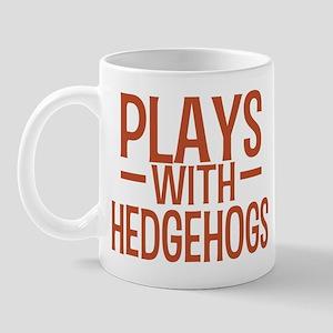 PLAYS Hedgehogs Mug