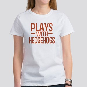 PLAYS Hedgehogs Women's T-Shirt