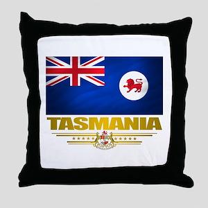 """""""Tasmania Flag"""" Throw Pillow"""
