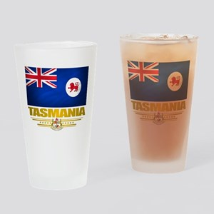 """Tasmania Flag"" Drinking Glass"