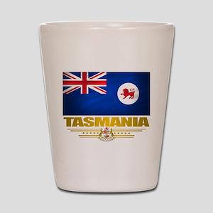 """Tasmania Flag"" Shot Glass"