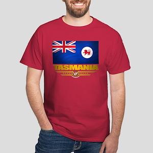 """""""Tasmania Flag"""" Dark T-Shirt"""