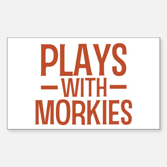 PLAYS Morkies Sticker (Rectangle)