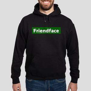 IT Crowd - Friendface Hoodie (dark)