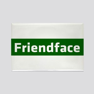 IT Crowd - Friendface Rectangle Magnet
