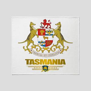 """""""Tasmania COA"""" Throw Blanket"""