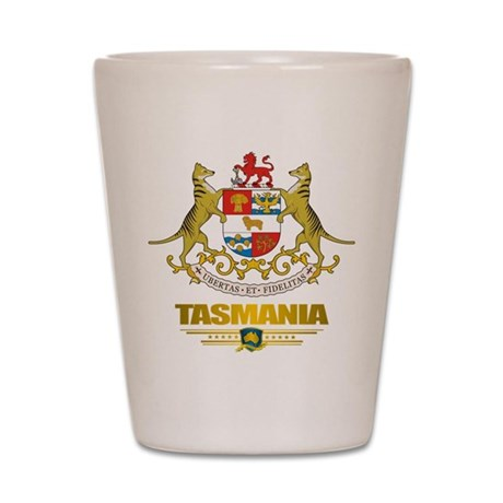 """""""Tasmania COA"""" Shot Glass"""